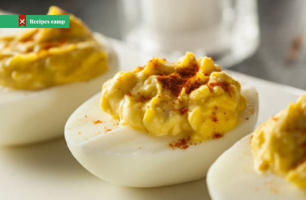 Recipe  Bacon and Cheese Deviled Eggs