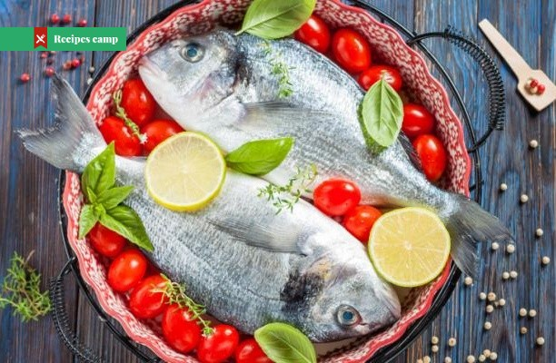 Recipe  Baked Bream With Tomatoes