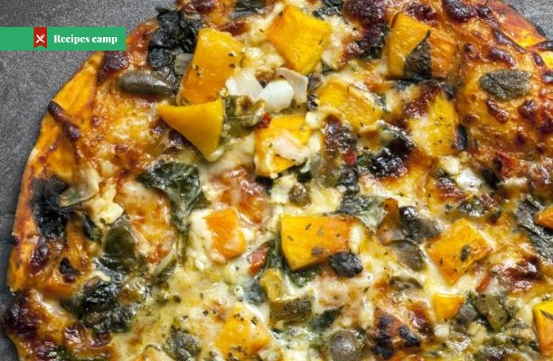 Recipe  Butternut Squash and Crispy Sage Pizza