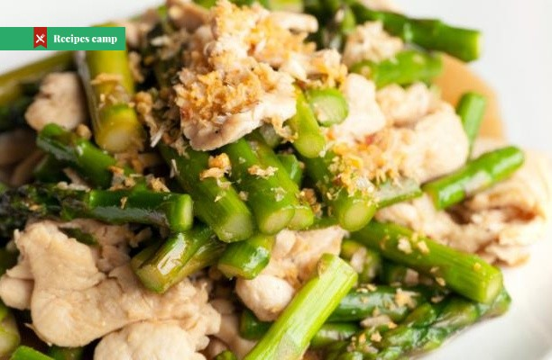 Recipe  Chicken and Asparagus Stir Fry