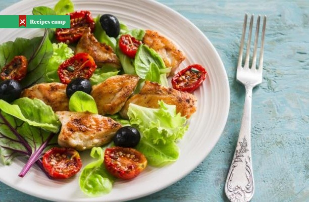 Recipe  Chicken, Pecan and Cherry Salad