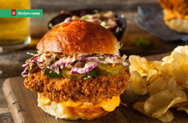 Recipe  Chipotle Turkey Burgers with Southwestern Slaw