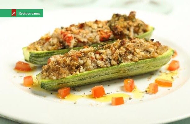 Recipe  Chorizo and Couscous Stuffed Marrow