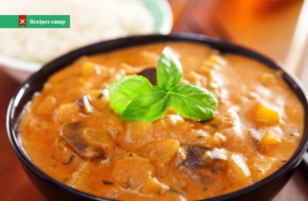 Recipe  Coconut Red Curry Stew
