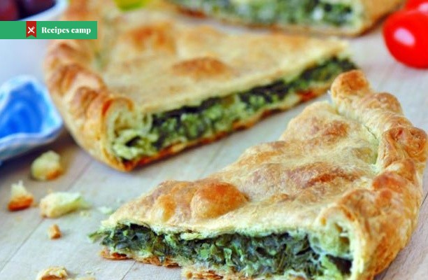Recipe  Crispy Greek-style pie