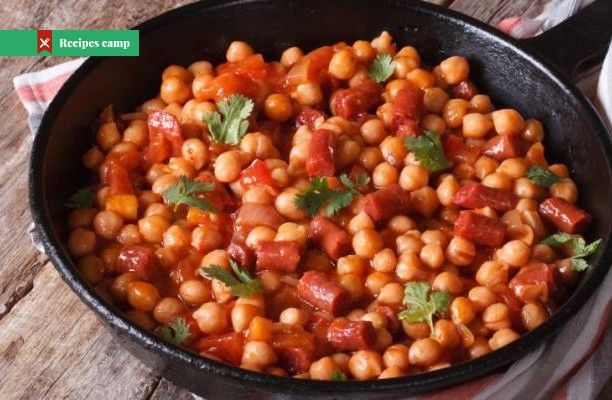 Recipe  Cuban Sauteed Chickpeas with Chorizo