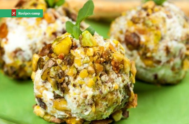 Recipe  Date, Walnut and Blue Cheese Ball