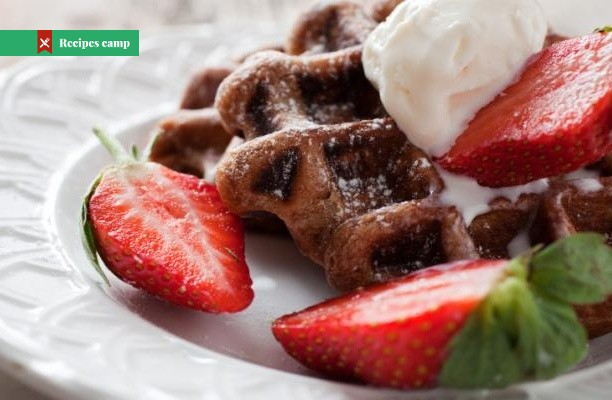 Recipe  Double Chocolate Brownie Waffles