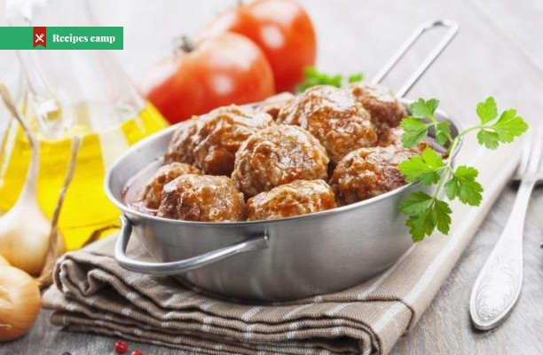 Recipe  Duck Meatballs with Cherry Sauce