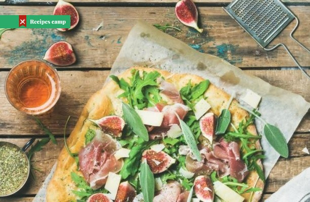 Recipe  Fig and Blue Cheese Flatbread