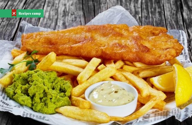 Recipe  Fish and Chips With Mushy Peas