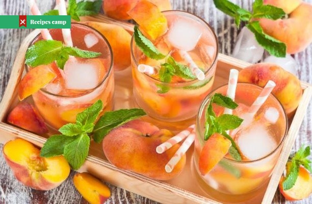 Recipe  Fresh Peach Lemonade