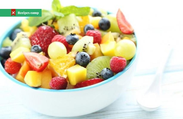 Recipe  Fruit Salad with Kiwi, Strawberries and Mango
