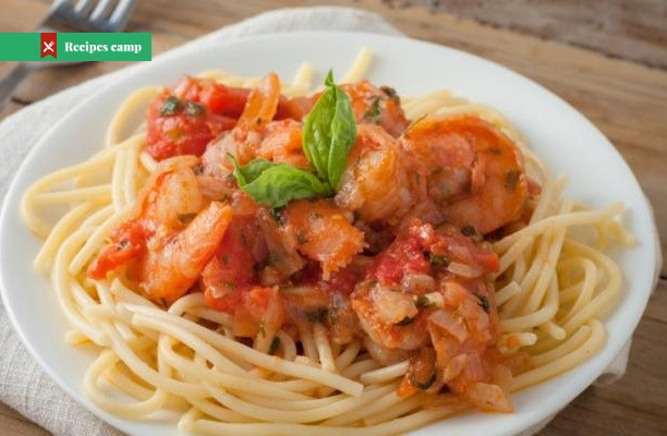 Recipe  Garlic Butter Capellini Pomodoro With Shrimp