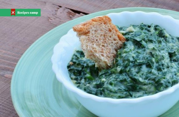 Recipe  German-Style Creamed Spinach