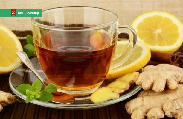 Recipe  Ginger tea