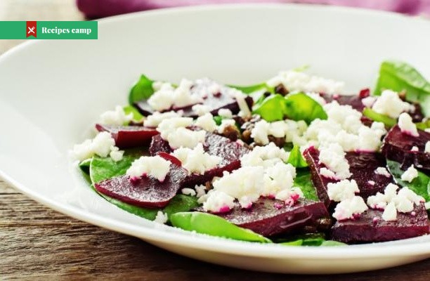 Recipe  Goat cheese and beet salad