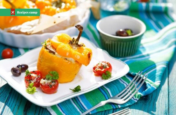 Recipe  Greek Stuffed Pepper