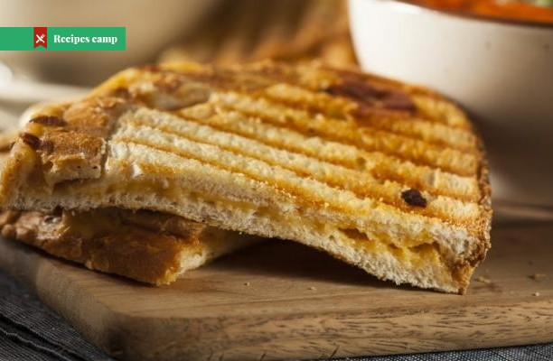 Recipe  Grilled Cheese with Caramelized Onions