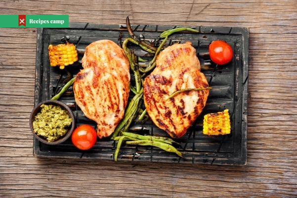 Recipe  Grilled Chicken Slices in Yogurt Marinade