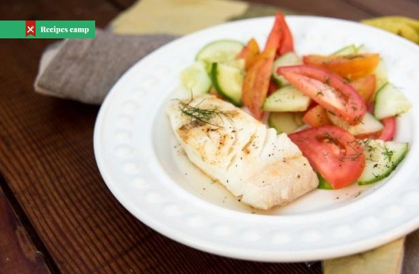 Recipe  Grilled Halibut and Fresh Mango Salsa