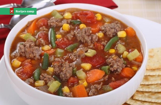 Recipe  Hearty Beef and Freezer Veggie Soup