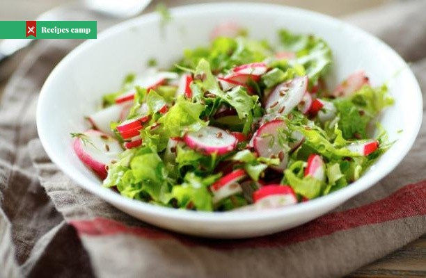 Recipe  Lemony Fennel, Radish, and Kale Salad