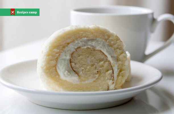 Recipe  Lime Sherbet Angel Food Cake Roll