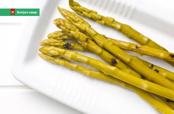 Recipe  Marinated Asparagus with Blue Cheese