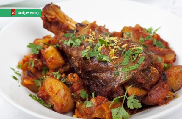 Recipe  Membrillo-Glazed Lamb with Potato, Celeriac & Chestnut Gratin