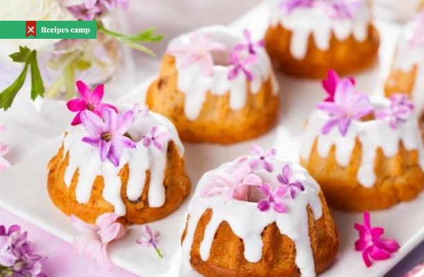 Recipe  Mini Cardamom Cream Cakes