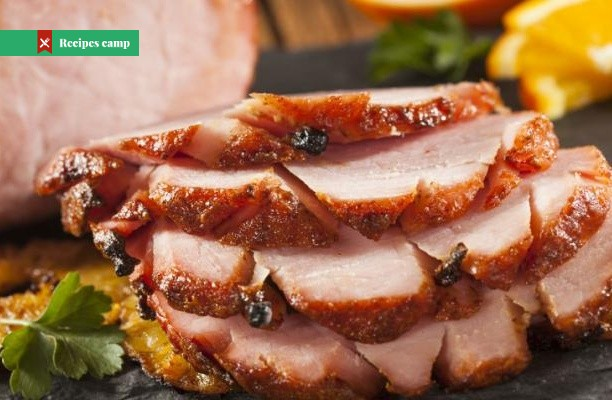 Recipe  Molasses-Glazed Ham Steak