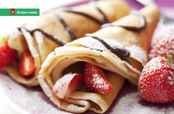 Recipe  Nutella Crepes with Strawberries