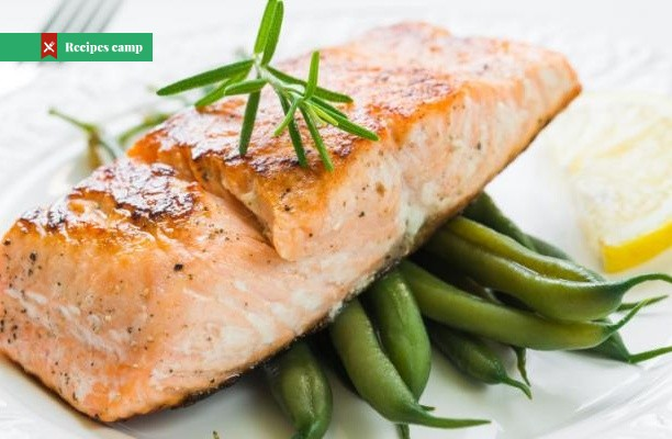 Recipe  Oven baked salmon