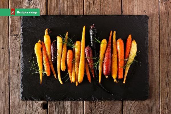 Recipe  Pan-roasted parsnips and carrots