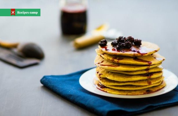 Recipe  Pancakes with Blueberry-Lemon Compote