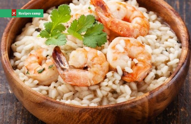 Recipe  Parmesan Risotto With Roasted Shrimp