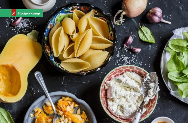 Recipe  Pasta with Summer Squash, Ricotta and Basil