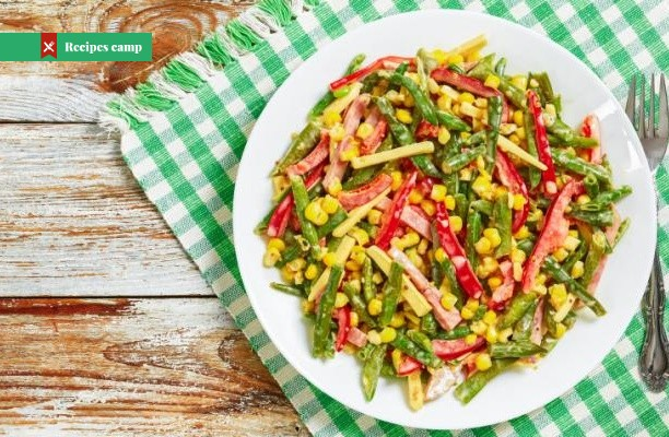 Recipe  Pickled corn succotash salad