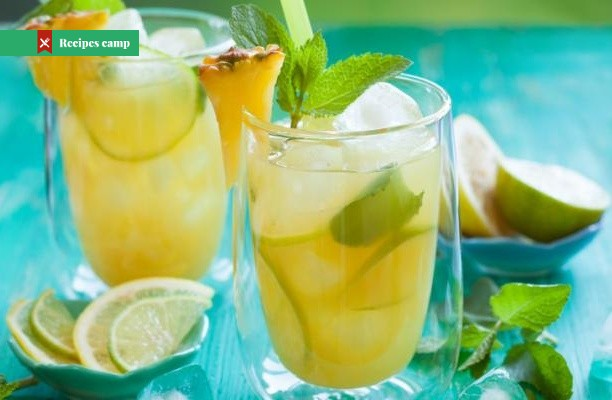 Recipe  Pineapple, Apricot and Lime Punch