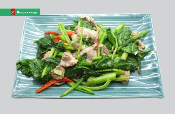 Recipe  Pork and Veggies Stir Fry