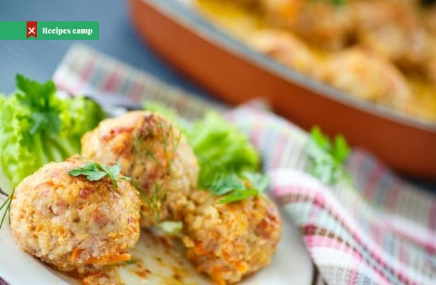 Recipe  Pork Meatballs Loaded with Apple and Cheddar