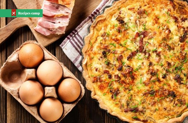 Recipe  Quiche Lorraine with Gruyere and Bacon