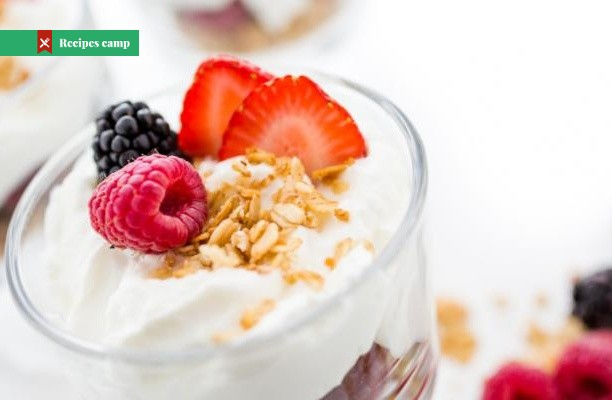 Recipe  Red Berry Granola Yogurt Pots