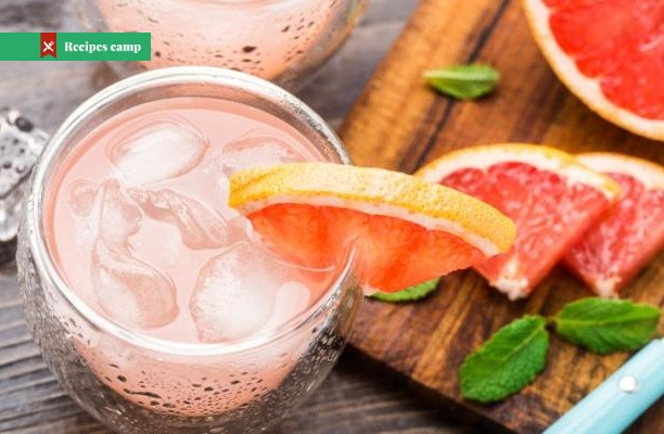 Recipe  Red Grapefruit and Rum Spritzers
