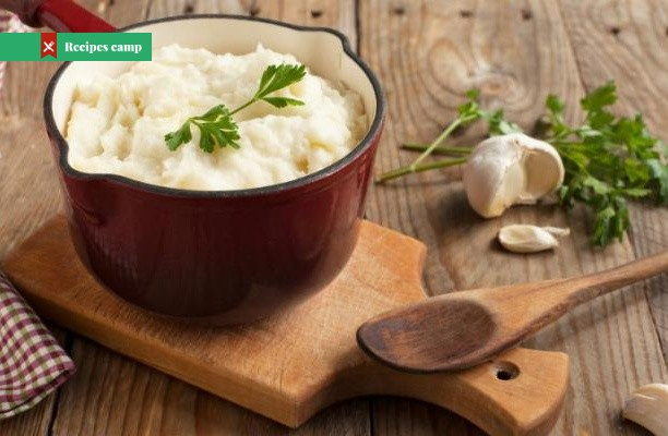 Recipe  Roasted Garlic Mashed Potatoes