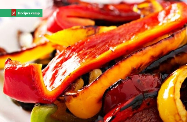 Recipe  Roasted Peppers With Capers and Mozzarella