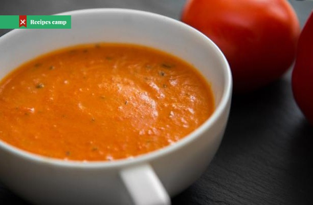 Recipe  Roasted Red Pepper and Tomato Soup
