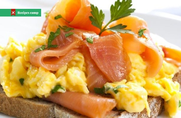 Recipe  Shirred Eggs with Smoked Salmon