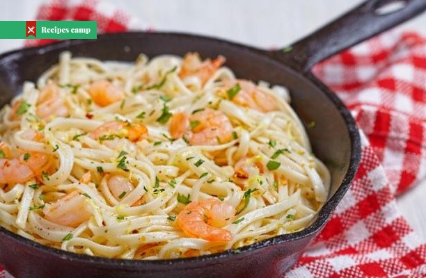 Recipe  Shrimp Scampi Pasta